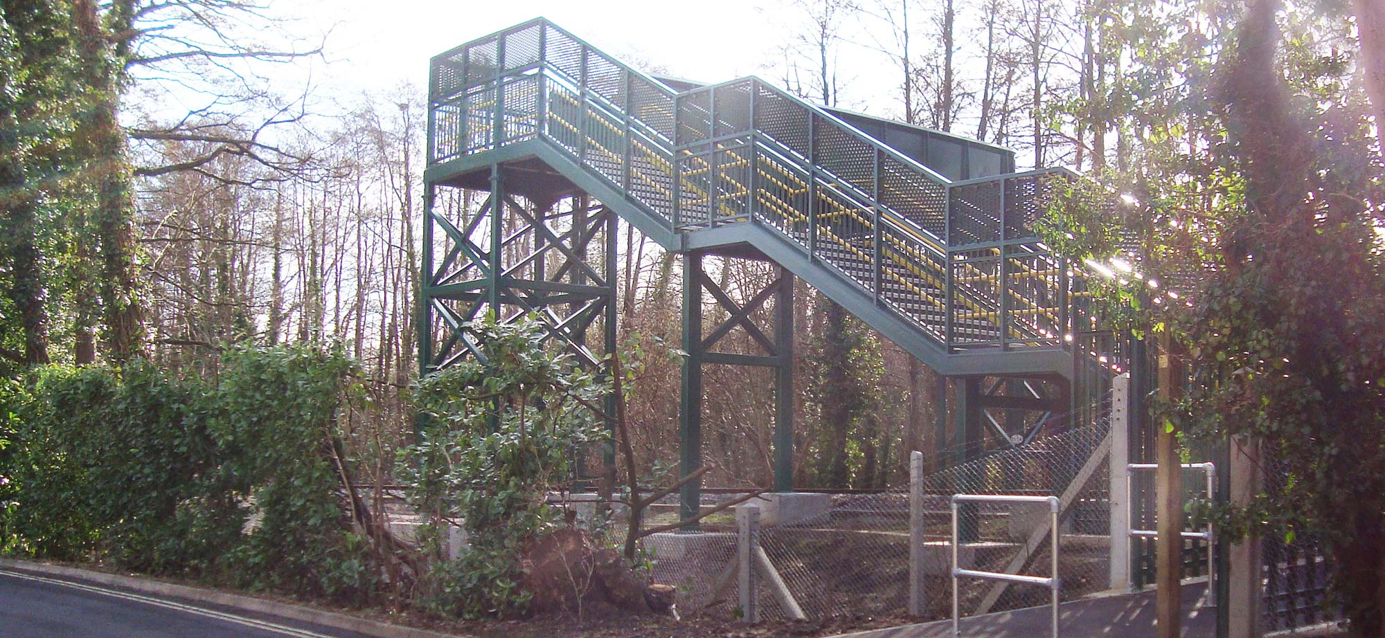 Footbridges and Footbridge Foundations designed, fabricated and installed by FLI Structures
