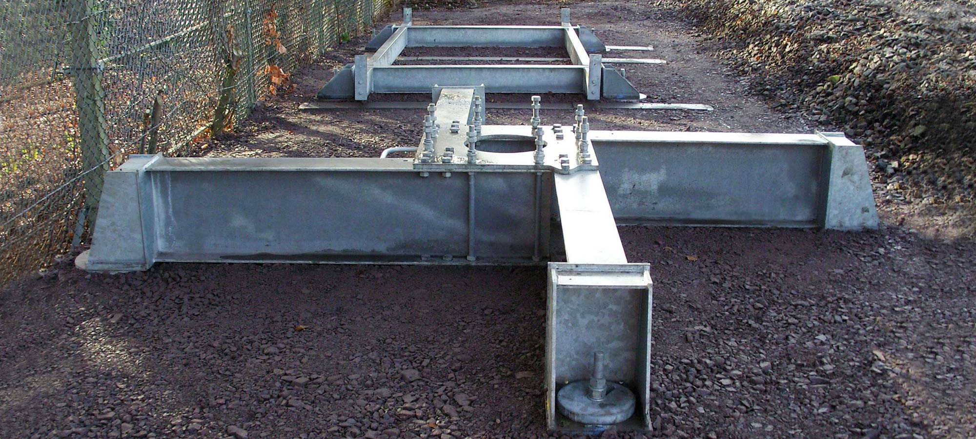 Steel Grillages for Rapid Deployment Foundations by FLI Structures