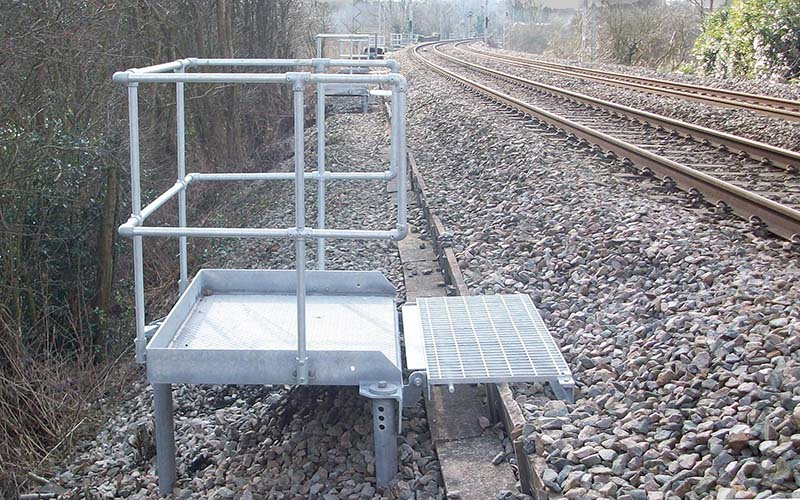 Rail Refuge Platforms by FLI Structures